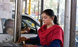Female-power-at-NHAI-Mathura-toll-plaza