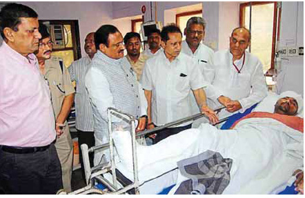 suresh-yadav-rss-pracharak-in-hospital