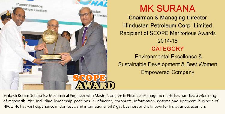 MK SURANA Chairman & Managing Director