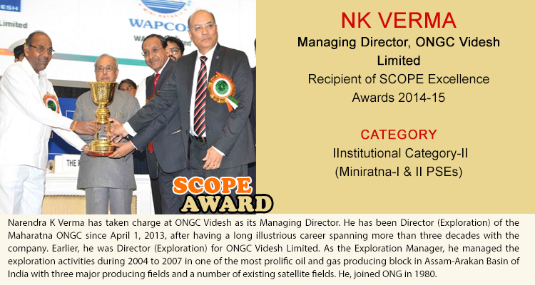NK VERMA Managing Director ONGC Videsh Limited