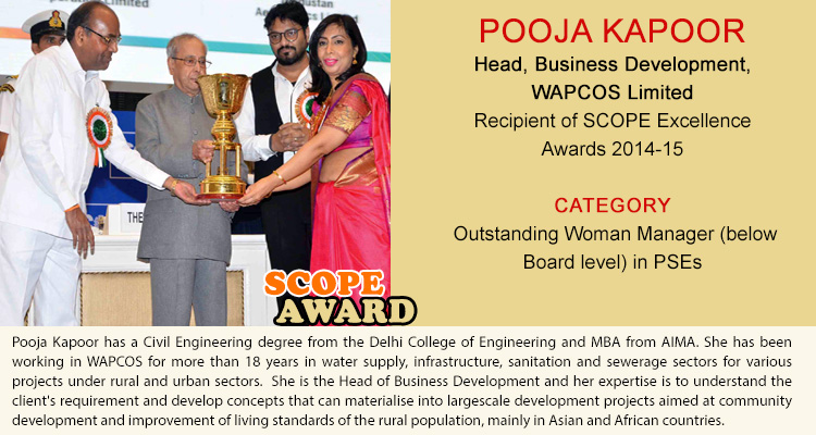 pooja-kapoor-bd-wapcos-ltd