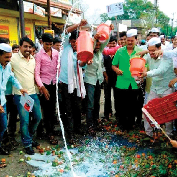 farmers-stir-in-madhya-pradesh