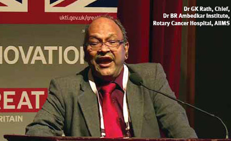Dr GK Rath, Chief, Dr BR Ambedkar Institute, Rotary Cancer Hospital, AIIMS