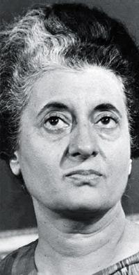 Indira-Gandhi Former India Prime Minister