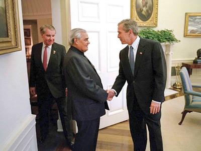 Atal-and-George Bush