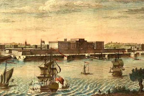 Fort William by Jan Van Ryne, 1754