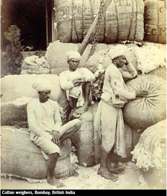 Cotton-weighers-Bombay-Brit