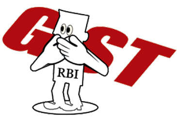 Reserve Bank of India not pay GST