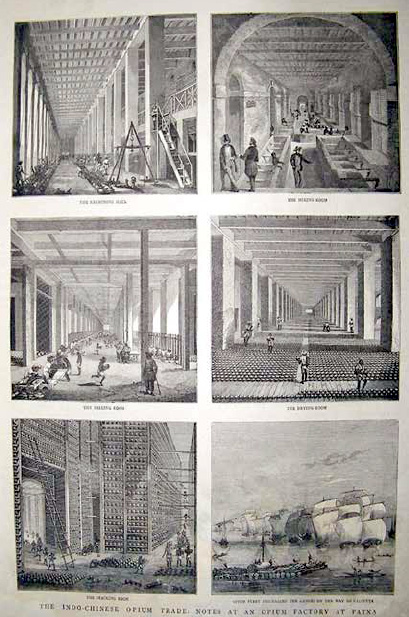 Opium factory at Patna