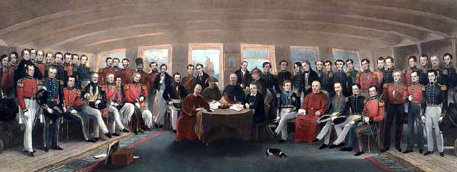 Signing of the Treaty of Nanking (1842)