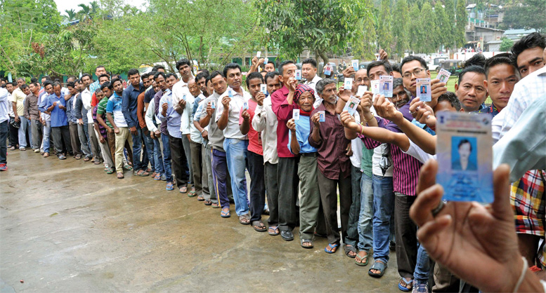 election-polling-booth-queue